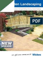 Garden Landscaping Brochure