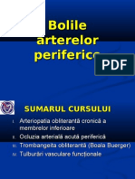 4-Bolile arterelor periferice