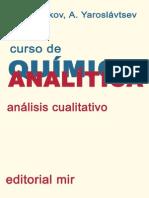Curso de Quimica Analitica Analisis Cualitativo