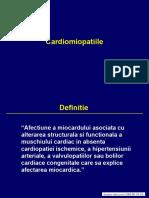 Curs Studenti Cardiomiopatii
