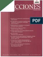 2003 ELECCIONES. Abstencionismo y Ausentismo