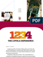 Loyola Experience 4 Year Plan 2012