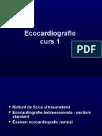 Ecocardiografie - Curs 1