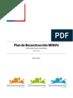 Resumen Ejecutivo Plan de Reconstrucción