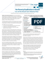 New Strategy for Poverty Eradication in Brazil