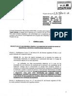 Proyecto de Ley No. 2314/2012-CR