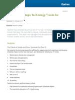 Gartner_The Top 10 Strategic Technology Trends for 2014