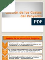 Gestion de Costos de Proyecto