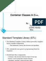 Container Classes in C++