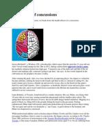impact of concussions