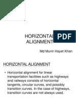 Horizontal Alignment 180214