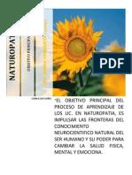 OBJETIVO DE LOS NATUROPATAS
