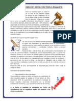 Evaluación de Req. Legales Para Publicar