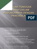Tonggak-Tonggak Sejarah Dalam Hubungannya Dengan Pancasila.ppt