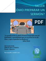 Como Preparar Un Sermon