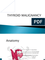 Thyroid Malignancy