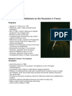 burke & the french revolution