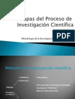 Etapas Del Proceso de Investigación Cientifica