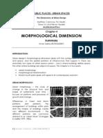Morphological Dimension Summary by Arnav