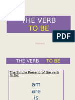 THE VERB   BE