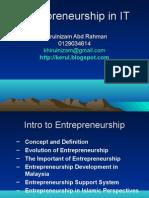 Intro to Entrepreneurship