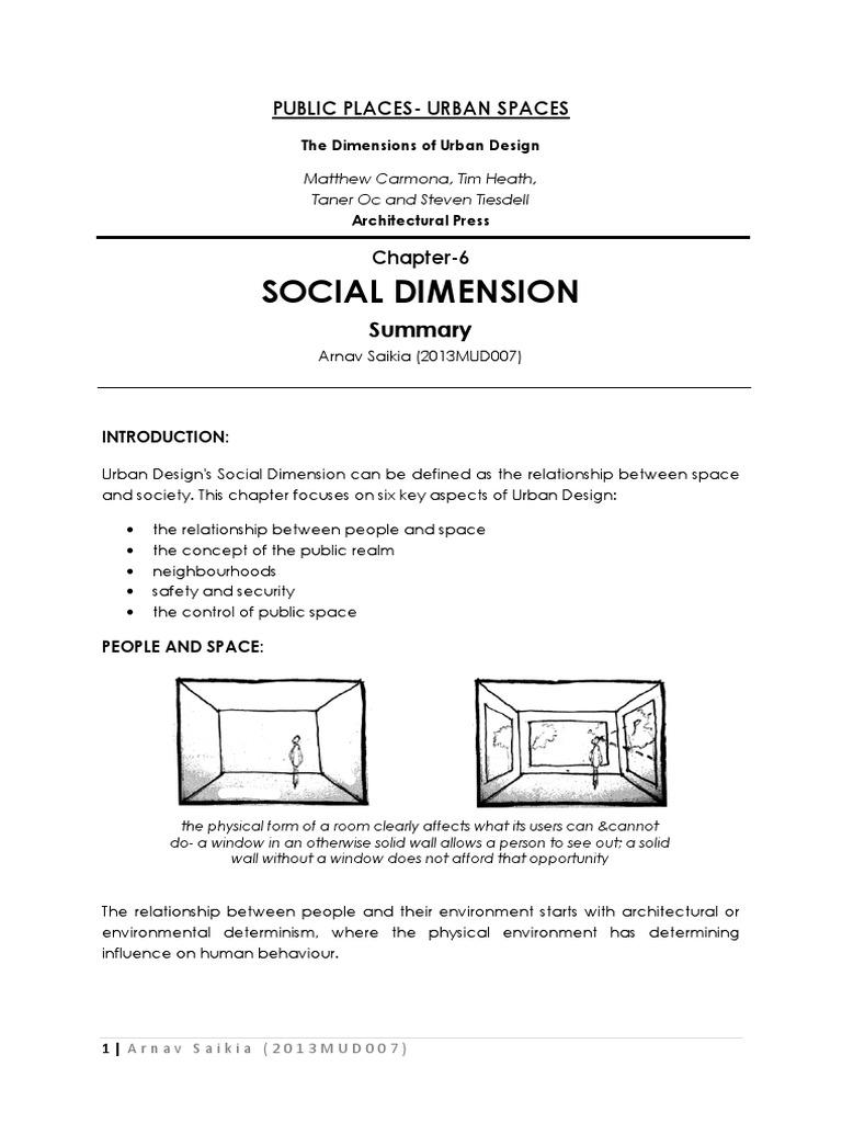 Social Dimension Summary Arnav Social Exclusion Crime Prevention