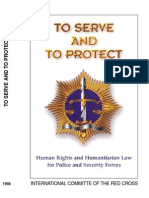 To serve and to protect