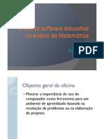 software educativo no ensino de matematica