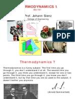 Thermodynamics I - Introduction