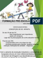 Slides Formacao Pre Letramento