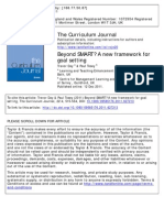 Beyond SMART a New Framework for Goal Setting