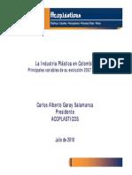 Perspectivas Comerciales Del Sector Plasticos en Colombia ACOPLASTICOS p1