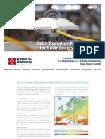 KippZonen Solar Energy Guide