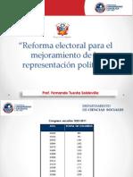 D 2012. Congreso Reforma para mejorar la representación.pdf