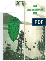 Idaho Lakes and Reservoirs Guide 3rd Printing 1973