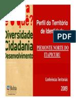Perfil Do Territorio Piemonte Norte Do Itapicuru 2009