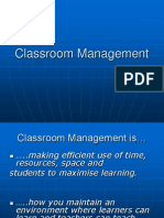Classroom Management_Concepts & Effective Teachers