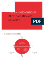 Tips en handigheidjes in de omgang met de media