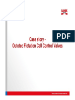 Case Story - Outotec Flotation Cells