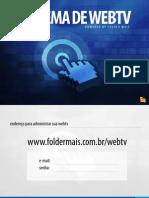 Sistema de WEBTV - Manual de Instruções