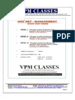 Ugc Net_management_free Solved Paper_english Version