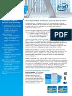 Intelligent Desktop Virtualization Core Vpro Solution Brief