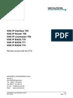 KNX IP Interface Remote En
