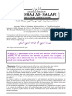 Les Règles de Base du Manhaj as-Salafi