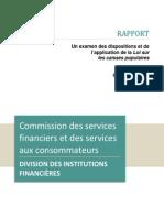 Commission Service Aux Consommateurs