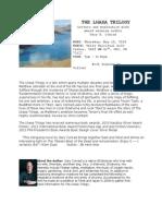 The Lhasa Trilogy Flyer