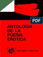 Antología de La Poesía Erótica - Claudia Schvartz (Selección)