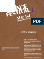 Arst at Amherst Fringe Festival 2014 Digital Program