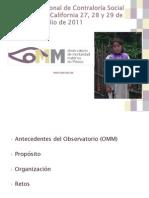 6 Observatorio de Mortalidad Materna en Mexico