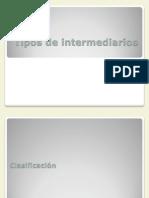 Tipos de Intermediarios